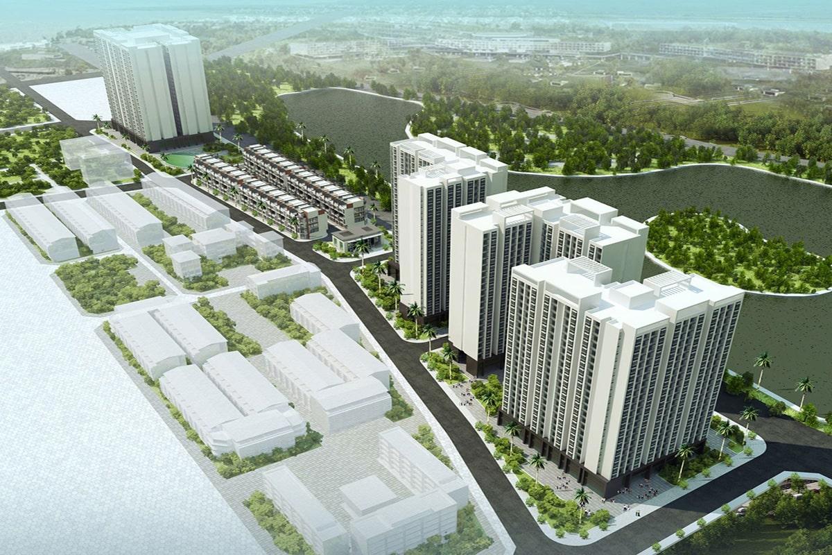 Dự án nhà ở xã hội Rice City Thượng Thanh